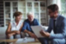 bigstock-Senior-couple-planning-their-i-
