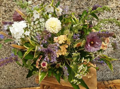 British flower arrangement