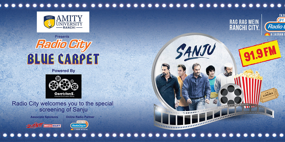 Blue Carpet (Sanju)