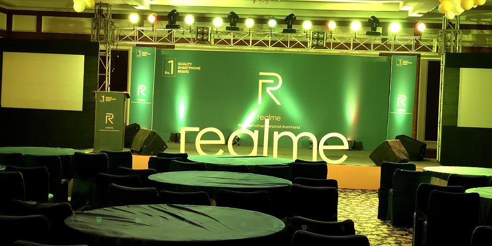 Realme Phone Lauching (Ranchi)