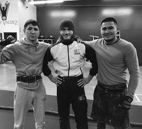Ashkeyev, Murtazaliev and Nursultanov Photo Courtesy of: Bakhram Murtazaliev