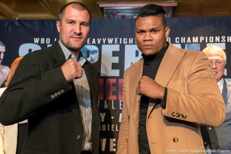 Kovalev and Alvarez, Photo Credits: David Spagnolo/Main Events