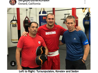 "Training Camp Notes: Sergey ""Krusher"" Kovalev Krusher Settles in with New Trainer Abror Tu"