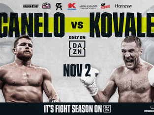 History Awaits...   Canelo Alvarez to Challenge Sergey 'Krusher' Kovalev for the WBO Light H