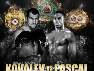 Quotes and Photos from Kovalev-Pascal Presser