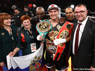 Deja Vu All Over Again Kovalev Stops Pascal at the End of the 7th Results from Centre Bell