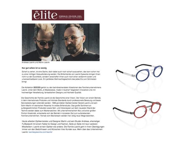 Lasnik Eyeworks | Elite