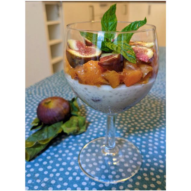 Kokos-Tapioca-Pudding