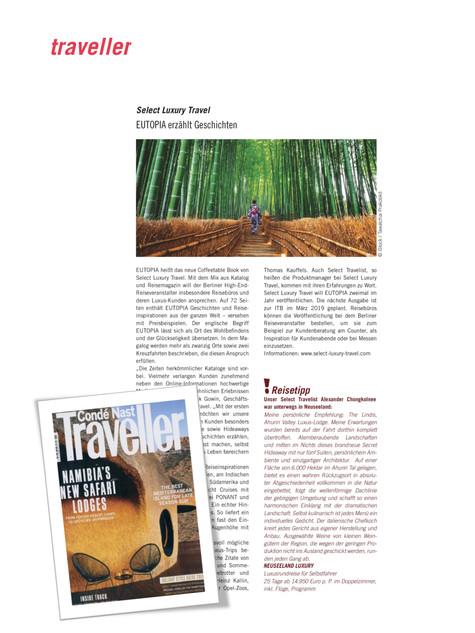Select Luxury Travel   Traveller