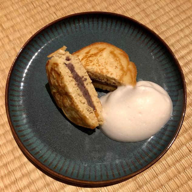 Dorayaki mit süßer Azuki-Füllung