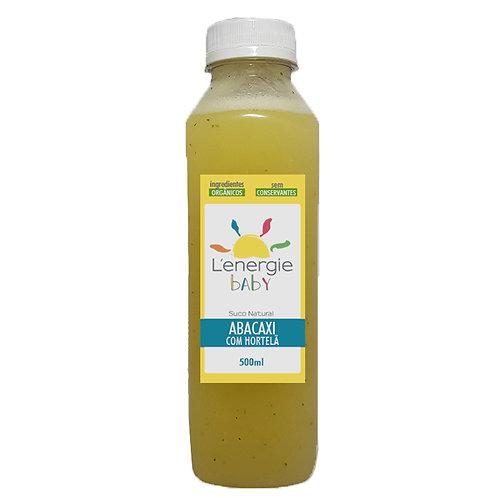 Suco de Abacaxi com Hortelã 500 ml