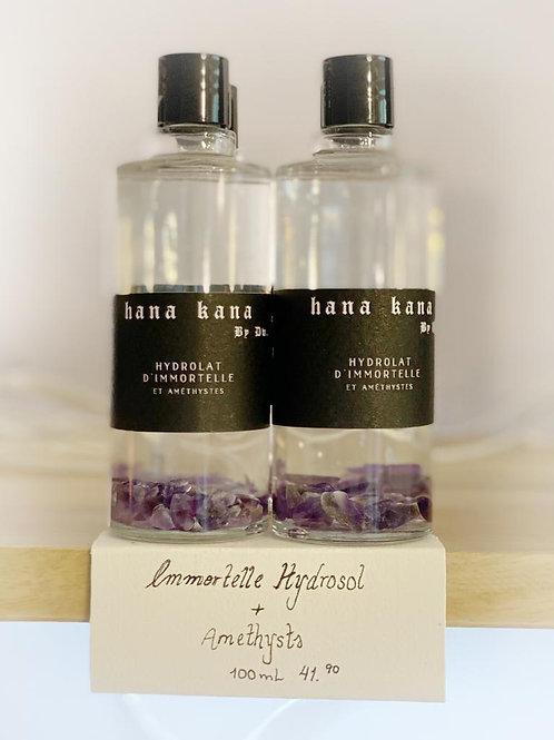 Hana Kana Immortelle Hydrosol with Amethysts