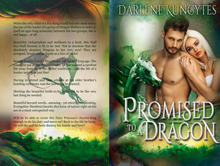Promised to a Dragon!! The paperbacks are IN!