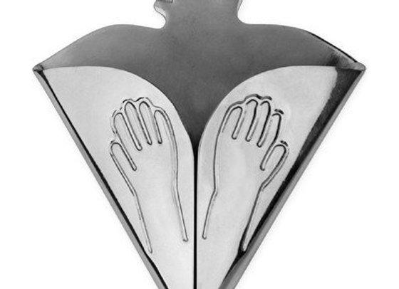 KITCHEN TOWEL HOLDER - woman