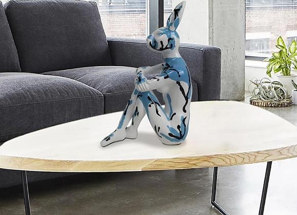 Splash Pop City Bunny (Resin Sculpture)