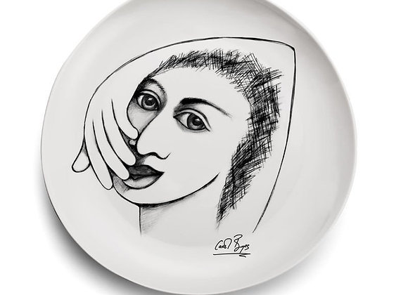 DINNER PLATE - I'm captivated