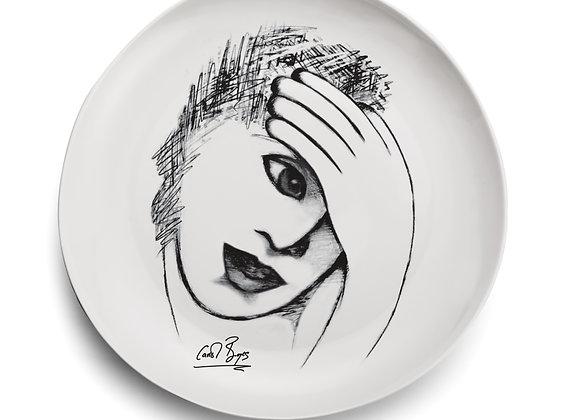 DINNER PLATE - restful mind