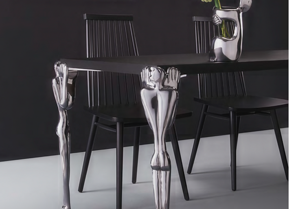 DINING TABLE LEG SET-man h715