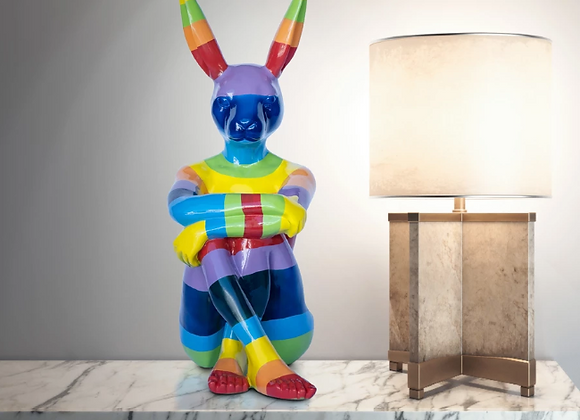 Lost Rainbow Bunny ( Medium )