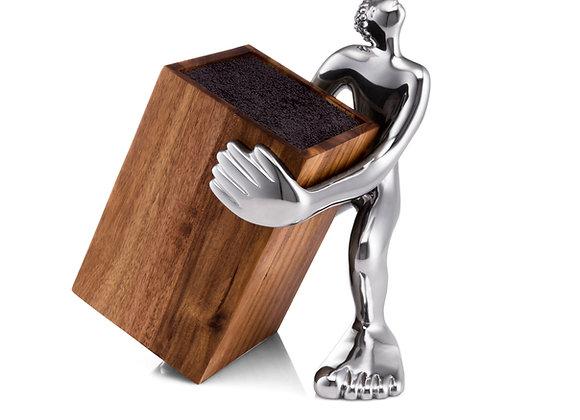 KNIFE BLOCK HOLDER - look sharp