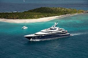 yacht near island.jpg