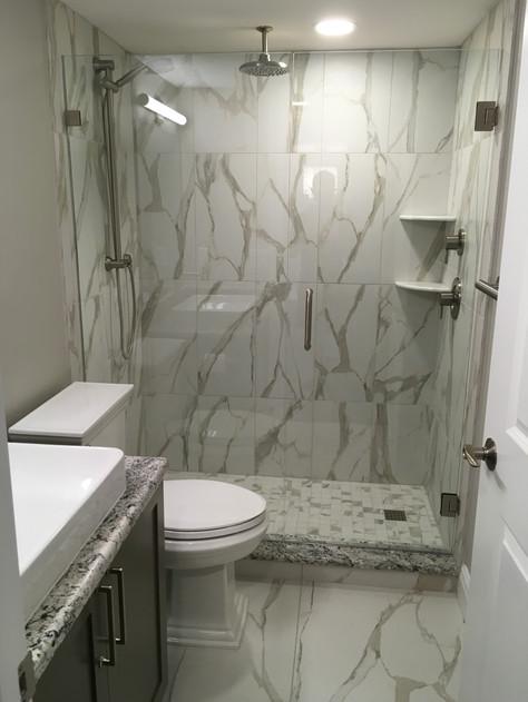 Master Bathroom Shower After