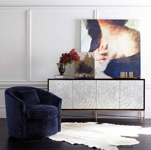 Bernhardt furniture Art Home Decor Furniture Console Buffet Contemporary