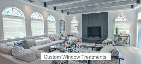 Custom window treatments Norman USA Tailored Interiors LLC Living Room