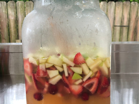 IN THE MEANTIME ENJOY A DELISH SANGRIA RECIPE! EVERYONE DESERVES IT!