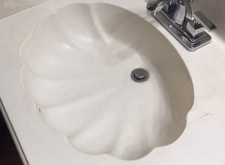Ugly Clamshell Sink!