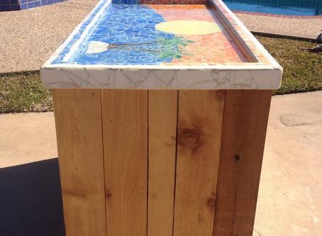 Rolling Mosaic Bar