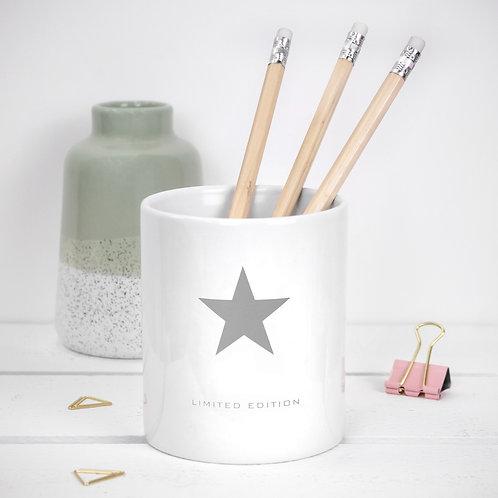 Limited Edition Star Ceramic Pot