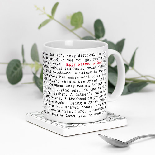 Father's Day Quotes Mug