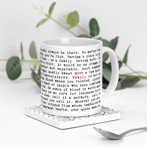 Family Mug with Quotes