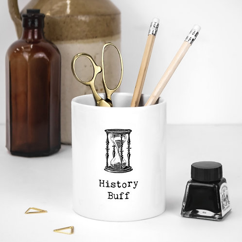 History | Vintage Words Utensil Pot x 3