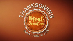 November 20 - Monetary Donations accepted