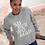 Thumbnail: White Text SuperWoman Unisex Heavy Blend™ Crewneck Sweatshirt