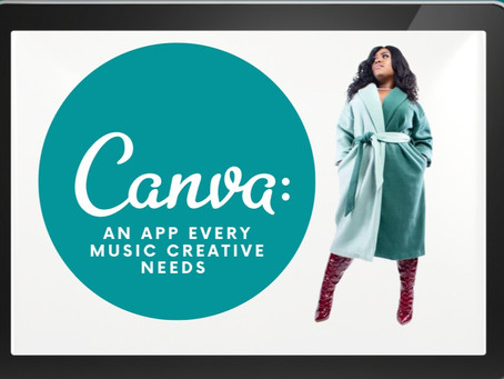 Canva: An App Every Music Creative Needs