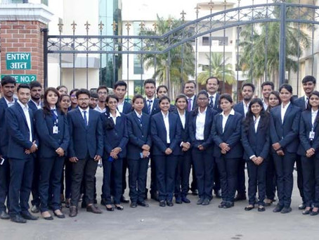 Industrial Visit to Serum Institute of India