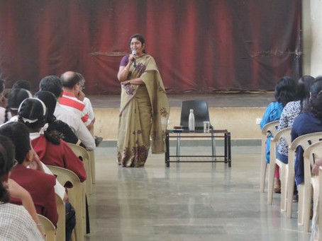 Orientation session for Parents of Std IX and X
