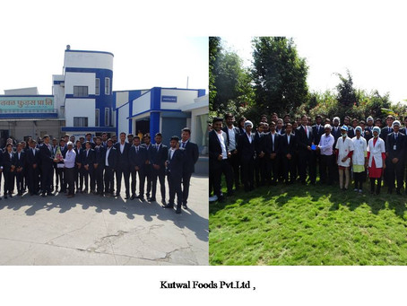 Industrial Visit to Kutwal Foods Private Ltd.