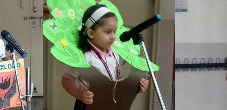 Poetry Recitation competition: Pre-Primary section