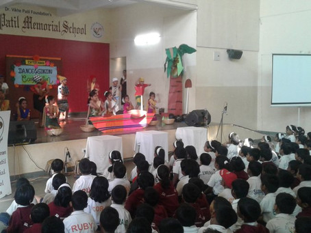 Inter House Group Dance Competition: Std I – II