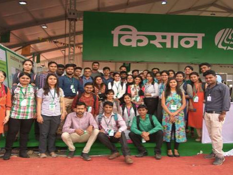 Industrial visit to Kisan Fair
