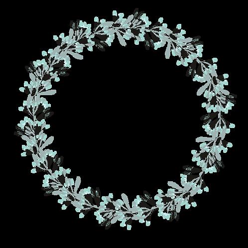 Floral Wreath 001