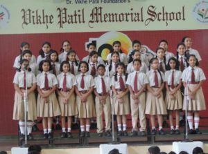 Choir at VPMS Lohegaon
