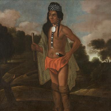 Portrait of Native American Sachem
