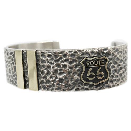 Route 66 motor rider ring Handmade original 925 sterling silver