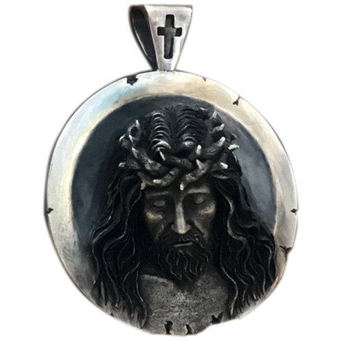 The crucifixion Jesus pedant Handmade original 925 sterling silver