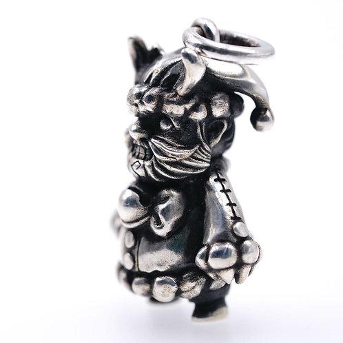 Original Handmade 925 sterling silver personalized Santa Claus locket